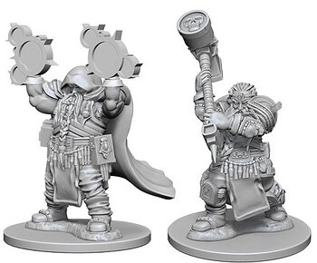 D&D Nolzurs Marvelous Miniatures: Dwarf Male Cleric
