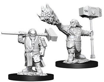 D&D Nolzurs Marvelous Miniatures: Male Dwarf Cleric
