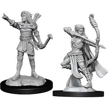 D&D Nolzurs Marvelous Miniatures: Female Elf Ranger