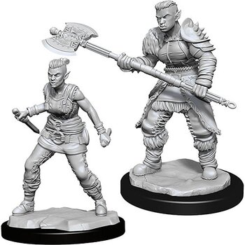 D&D Nolzurs Marvelous Miniatures: Female Orc Barbarian