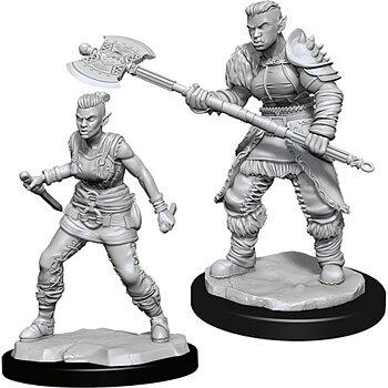 D&D Nolzurs Marvelous Miniatures: Female Orc Barbarian