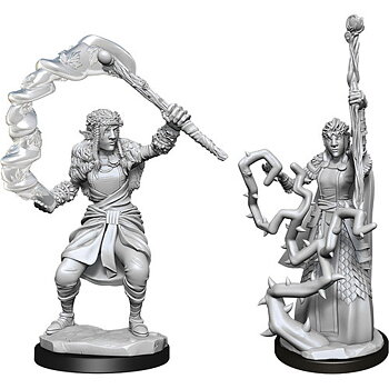D&D Nolzurs Marvelous Miniatures: Female Firbolg Druid