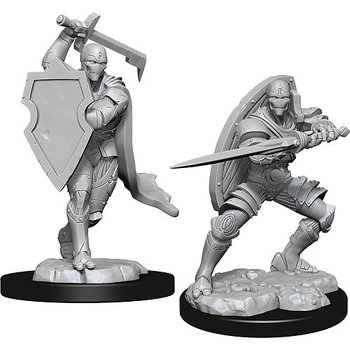 D&D Nolzurs Marvelous Miniatures: Male Warforged Fighter