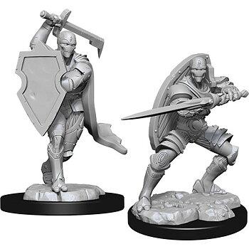 D&D Nolzurs Marvelous Miniatures: Male Warforged Fighter
