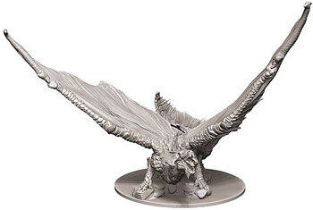 D&D Nolzurs Marvelous Unpainted Miniatures: Young Brass Dragon