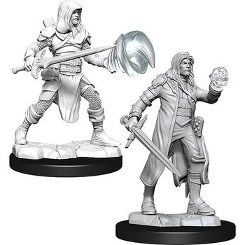D&D Nolzurs Marvelous Miniatures: Male Multiclass Fighter + Wizard