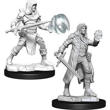 D&D Nolzurs Marvelous Miniatures: Male Multiclass Fighter + Wizard