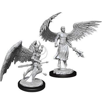 D&D Nolzurs Marvelous Miniatures: Deva & Erinyes