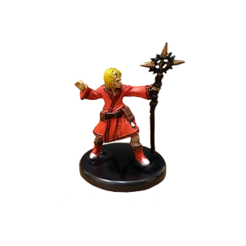 D&D Waterdeep Dragon Heist #008a Apprentice Wizard (Staff) (C)
