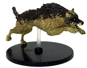 D&D Waterdeep Dragon Heist #031 Dire Wolf (U)