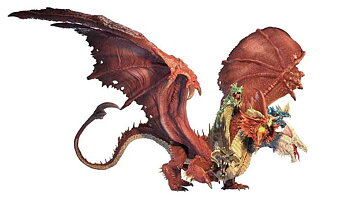 D&D Icons of the Realms Miniatures: Gargantuan Tiamat