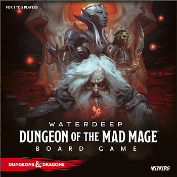 Dungeons & Dragons - Dungeon of the Mad Mage Board Game Standard