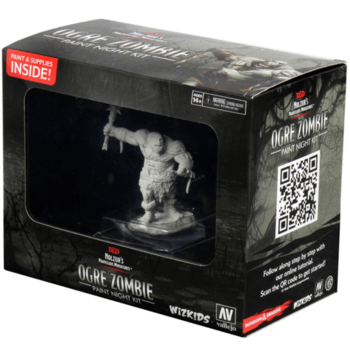 D&D Nolzurs Marvelous Miniatures: Ogre Zombie Paint Night Paint Kit
