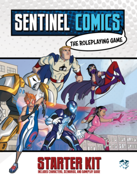 Sentinel Comics RPG: Starter Kit + PDF