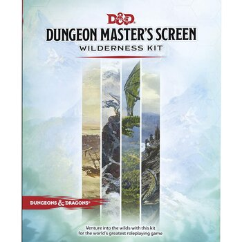 Dungeons & Dragons - Dungeon Master's Screen Wilderness Kit