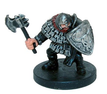 Aberrations #07 Hill Dwarf Warrior (Begagnad)