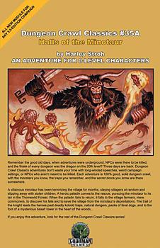 Dungeon Crawl Classics #35A: Halls of the Minotaur