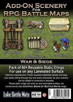 Add-On Scenery for RPG Battle Maps - War & Siege