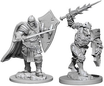D&D Nolzurs Marvelous Miniatures: Death Knight & Helmed Horror
