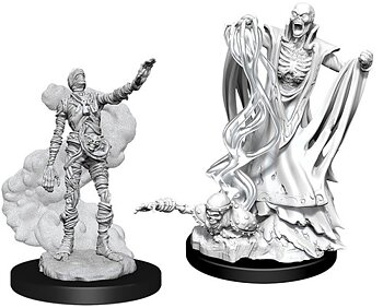 D&D Nolzurs Marvelous Miniatures: Lich & Mummy Lord