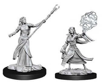 D&D Nolzurs Marvelous Miniatures: Female Elf Sorcerer