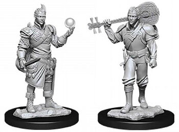 D&D Nolzurs Marvelous Miniatures: Male Half-Elf Bard