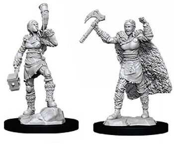 D&D Nolzurs Marvelous Miniatures: Female Human Barbarian