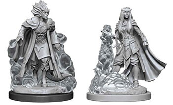 D&D Nolzurs Marvelous Miniatures: Female Tiefling Sorcerer