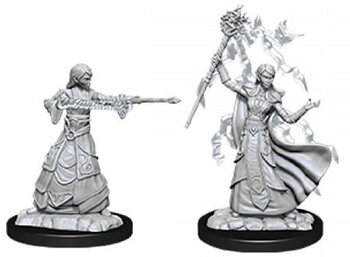 D&D Nolzurs Marvelous Miniatures: Female Elf Wizard