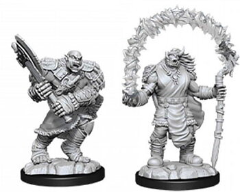 D&D Nolzurs Marvelous Miniatures: Orc Adventurers