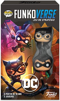 Funkoverse Strategy Game: DC 101 2-Pack (eng. regler)