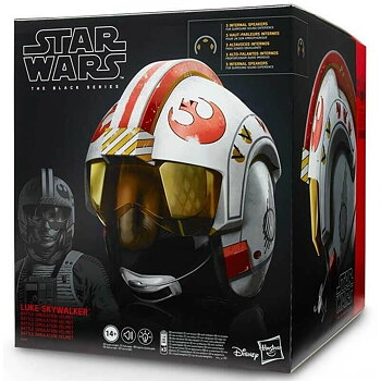 Star Wars Episode 9 Black Series Luke Skywalker Battle Simulation Helmet
