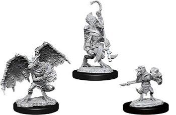 D&D Nolzurs Marvelous Miniatures: Kobold Inventor, Dragonshield, & Sorcerer