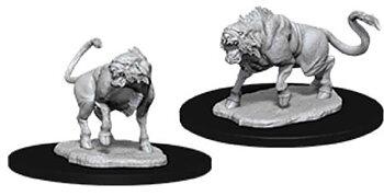 D&D Nolzurs Marvelous Miniatures: Leucrotta