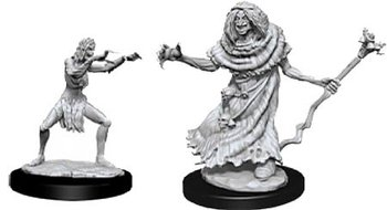 D&D Nolzurs Marvelous Miniatures: Sea Hag & Bheur Hag