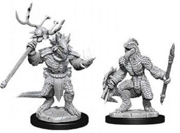 D&D Nolzurs Marvelous Miniatures: Lizardfolk & Lizardfolk Shaman