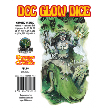 DCC Glow - Dice Chaotic Wizard