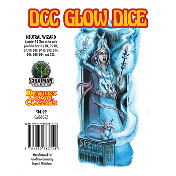 DCC Glow - Dice Neutral Wizard
