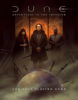 Dune: Adventures in the Imperium RPG - Core Rulebook (std ed.)
