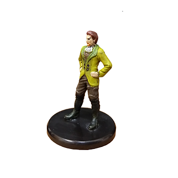 D&D Waterdeep Dragon Heist #005b Noble (Green Jacket) (C)