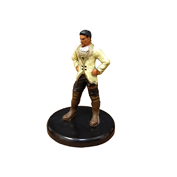 D&D Waterdeep Dragon Heist #005a Noble (White Jacket) (C)
