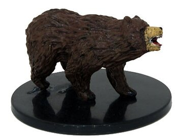 D&D Waterdeep Dragon Heist #025 Brown Bear (U)