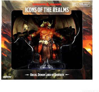 Icons of the Realms: Orcus, Demon Lord of Undeath Premium Figure