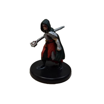 D&D  Waterdeep Dragon Heist #020a Human Warlock of the Fiend (No Spell) (U)