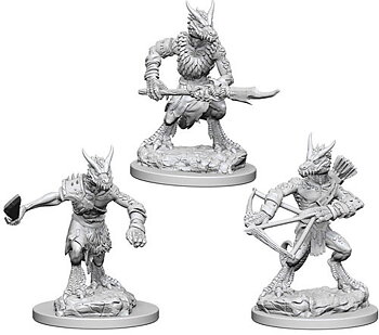 D&D Nolzurs Marvelous Unpainted Miniatures: Kobolds