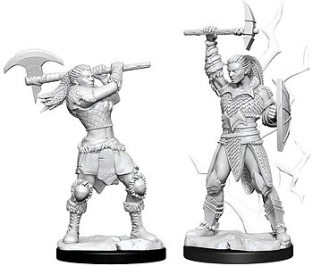 D&D Nolzurs Marvelous Unpainted Miniatures: Female Goliath Barbarian