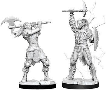 D&D Nolzurs Marvelous Unpainted Miniatures: Female Goliath Barbarian