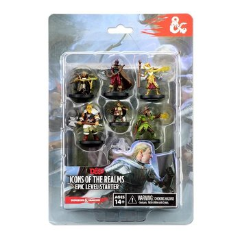 D&D Icons of the Realms Miniatures Epic Level Starter
