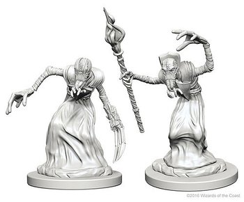 D&D Nolzurs Marvelous Unpainted Miniatures: Mindflayers