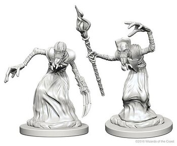 D&D Nolzurs Marvelous Unpainted Miniatures: Mindflayers